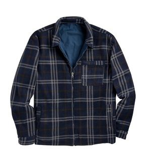 Other - NWT Mens Reversible Poly/Flannel Jacket